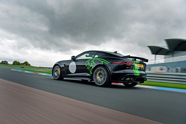 Jaguar F-Type Thrill at Thruxton Circuit