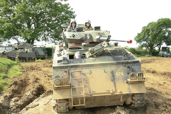 Adult and Child Tank Driving Experience