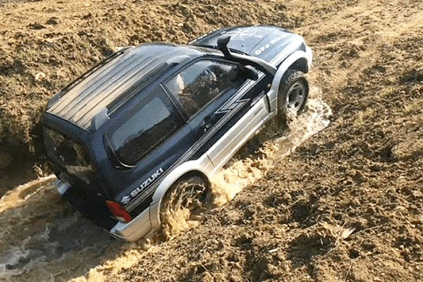 4x4 Off Road Driving and Rally Taster Experience for One at Silverstone Rally School