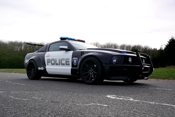 Four Lap Police Chase Driving Experience for One