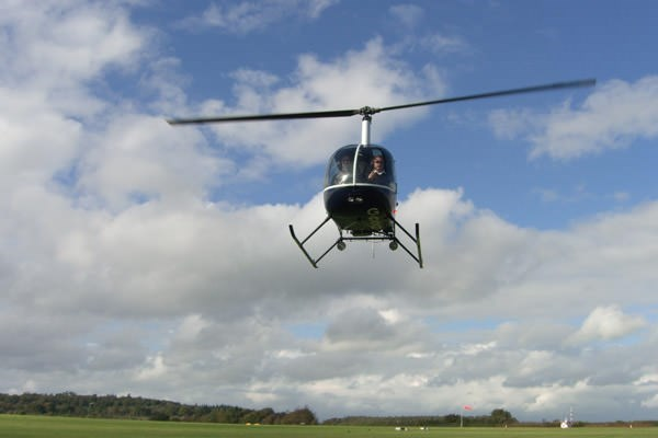 Helicopter Ride Over London for One