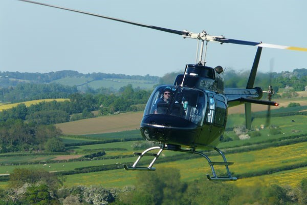 25 Minute Extended Helicopter Flight with Bubbly for One