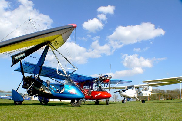 Click to view details and reviews for 60 Minute Microlight Flight For One.