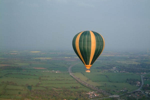 Weekday Hot Air Balloon Ride for Two