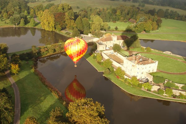 Sunrise Balloon Flight with Champagne for Two