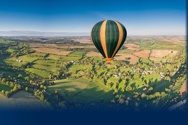 All-Day Balloon Flight with Champagne for Two