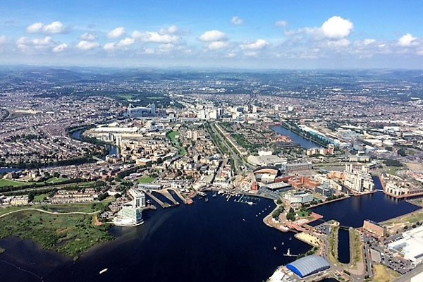 25 Mile Helicopter Tour of Cardiff