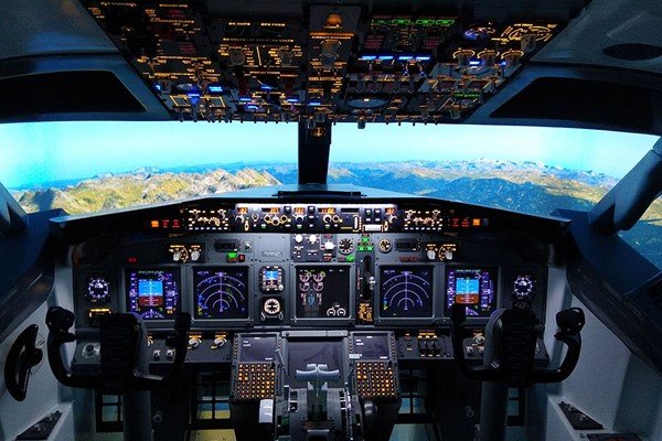 30 Minute Boeing 737 Flight Simulator Experience for One in Newcastle-Upon-Tyne