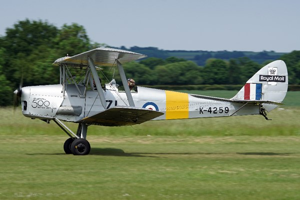 30 Minute Tiger Moth Flight Lesson For One