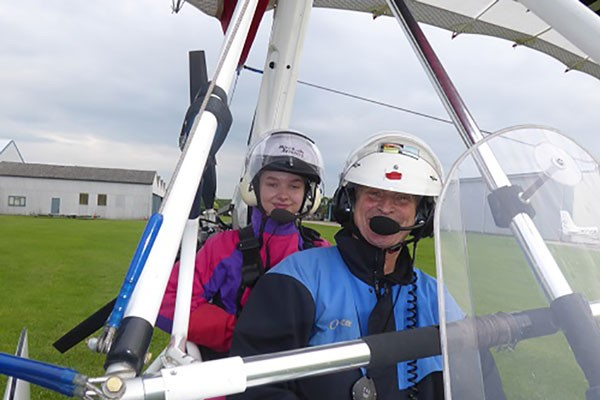One Hour Flex Wing Microlight Flight for One at Wanafly Airsports