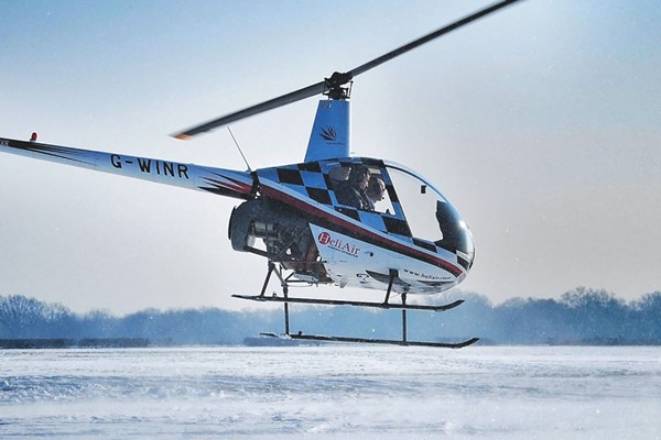 60 Minute Helicopter Flying Lesson for One at Heli Air