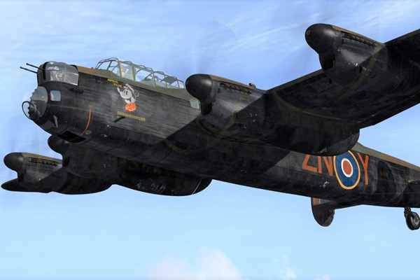 One Hour Lancaster Bomber Flight Simulator for One at Perry Air