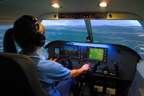 60 Minute Piper PA28 Cherokee Flight Simulator Experience for One