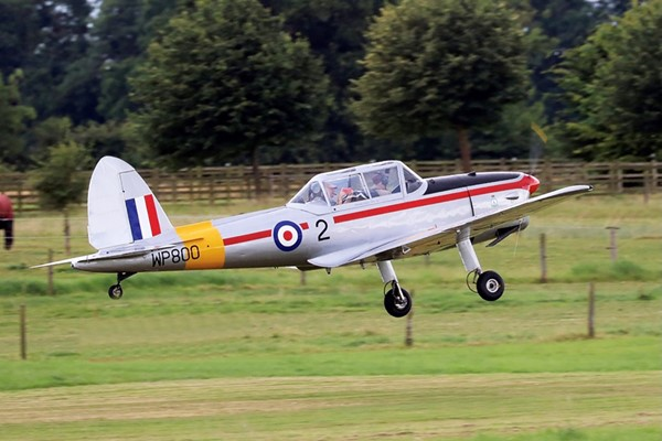 One Hour de Havilland Chipmunk Flight Experience for One