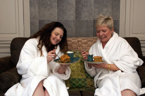 Spa Day with 90 Minutes of Treatments for Two at Alexandra House