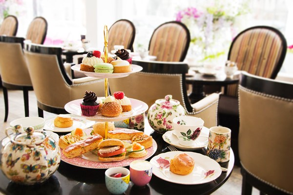 Traditional Afternoon Tea for Two at B Bakery London