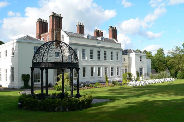 One Night Spa Break with Dinner for Two at Haughton Hall Hotel and Leisure Club