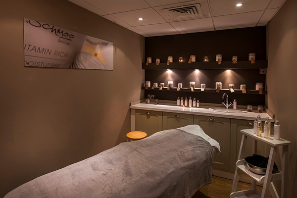 Ultimate Spa Day for Two with Treatments and Afternoon Tea at a Schmoo Spa Hilton Hotels
