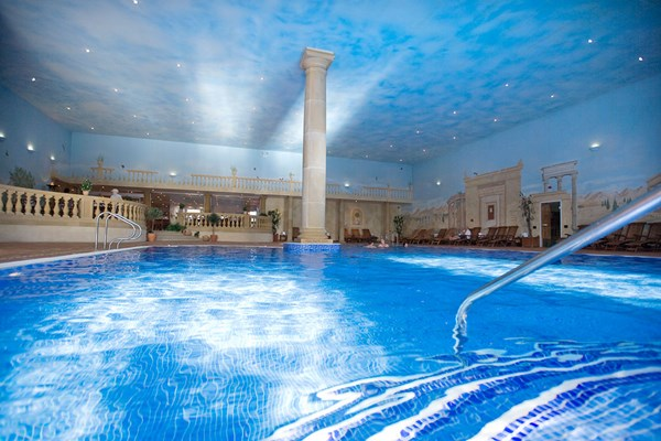 Pampering Spa Day with Treatment and Lunch for One at Whittlebury Hall