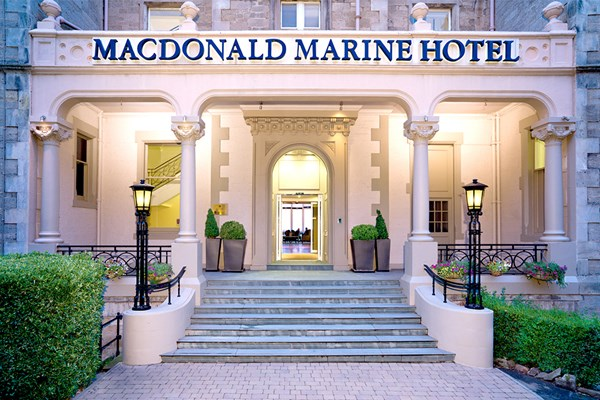 Indulgent Spa Day with Treatment and Cream Tea for Two at a Macdonald Hotel