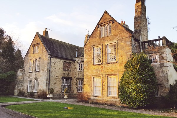 Overnight Spa Break with Two Treatments Each for Two at The Manor House Hotel