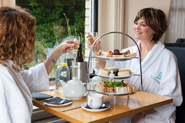 2 for 1 Indulgent Spa Day with Two Treatments and Afternoon Tea at Riverhills