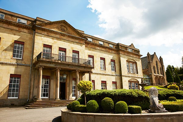 Spa Experience with 55 Minute Treatment and Lunch for Two at Shrigley Hall Hotel