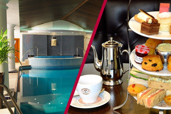Relaxation Spa Day with Treatments and Afternoon Tea for Two