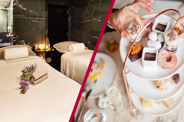 Chocolate Themed Afternoon Tea and Spa Day for Two at The May Fair Hotel, London