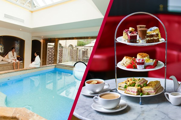 Bannatyne Spa Day with Three Treatments and Afternoon Tea at Caf