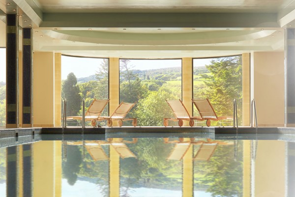 Indulgent Spa Day with Lunch for Two at Elan Spa in Bovey Castle