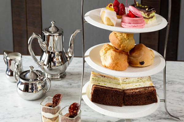 London Marriott Hotel Park Lane Afternoon Tea