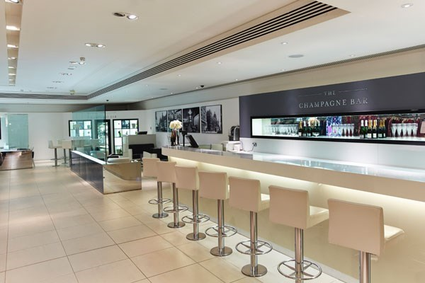 Harrods champagne bar experience for two from buyagift for Food bar experience
