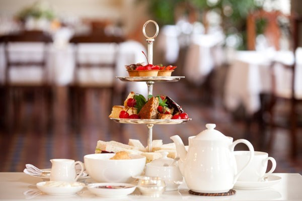 Luxury Afternoon Tea at Garden Cafe