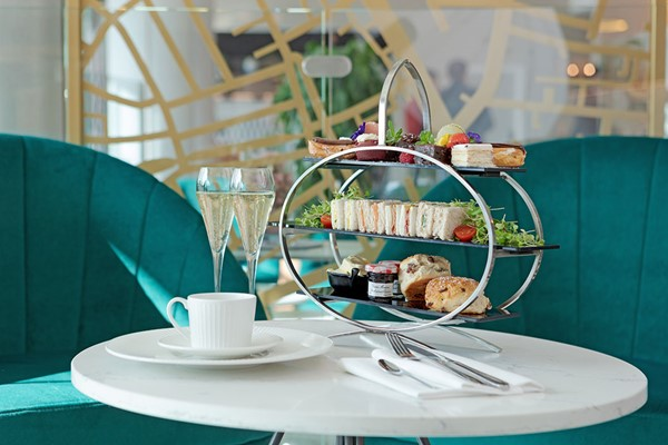 Sparkling Afternoon Tea for Two at Hilton London Angel Islington