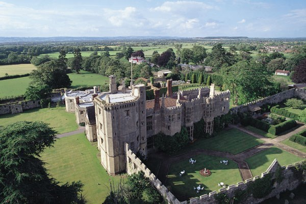 Afternoon Tea for Two at Thornbury Castle Hotel