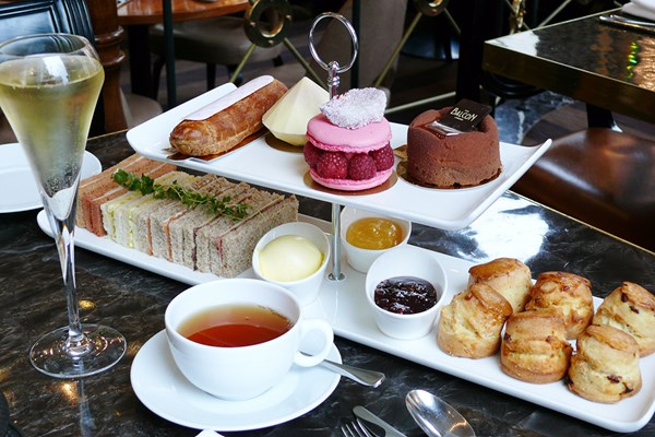 Afternoon Tea for Two at The Balcon