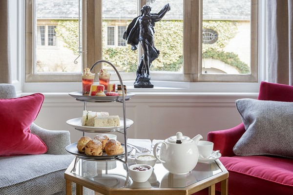 Afternoon Tea With Garden Entry for Two at The Slaughters Manor House