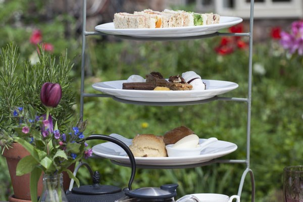 Champagne Afternoon Tea for Two at Tudor Farmhouse Hotel