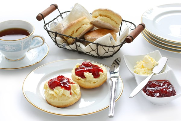 Cream Tea for Two at Cafe Bella Maria