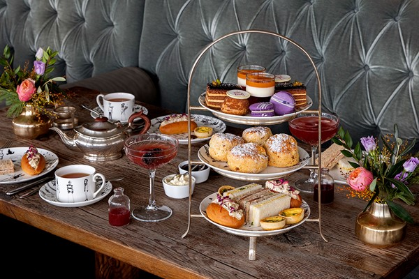Midsummer Nights Dream Sparkling Afternoon Tea for Two at Swan Bar and Restaurant