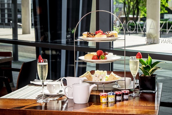 2 For 1 Sparkling Cocktail Afternoon Tea at Hilton London Canary Wharf