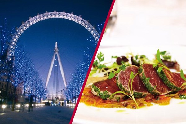 Coca-Cola London Eye and Michelin Dining with Bubbles at Galvin La Chapelle