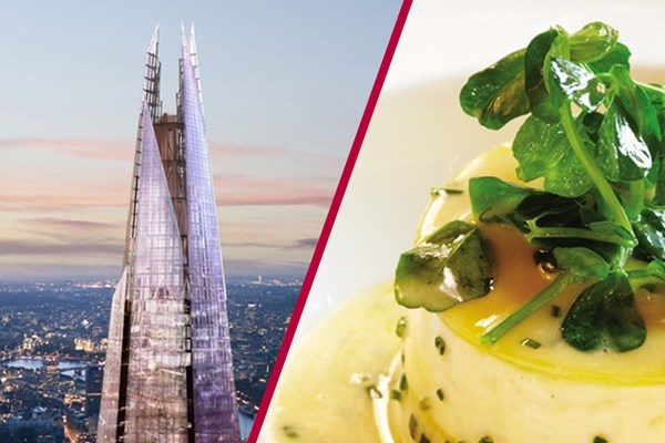 The View from The Shard and Michelin Starred Dining for Two at Galvin La Chapelle