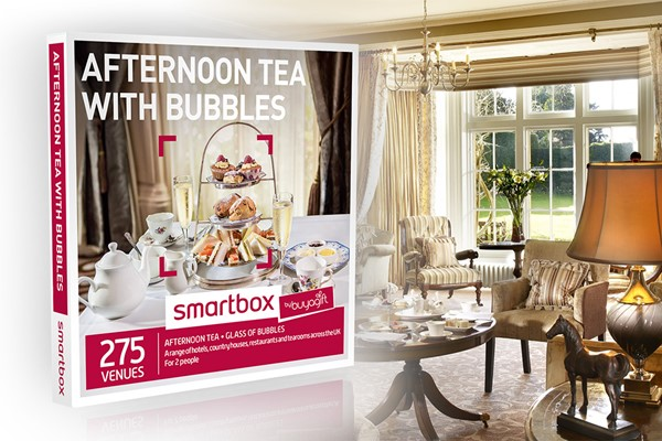 Afternoon Tea with Bubbles - Smartbox by Buyagift