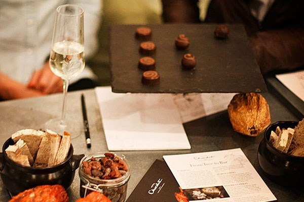 Hotel Chocolat's Bean to Bar Chocolate Making Experience with a Glass of Prosecco for One