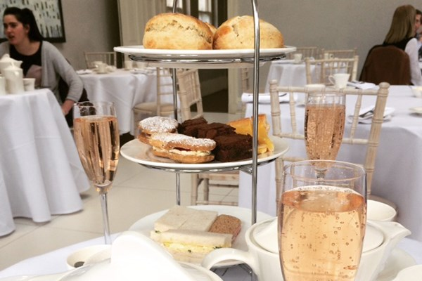 Champagne Afternoon Tea with Garden Entry for Two at Saltmarshe Hall