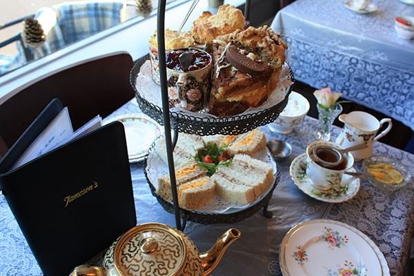 Champagne Afternoon Tea for Two at Jameson's Tea Rooms