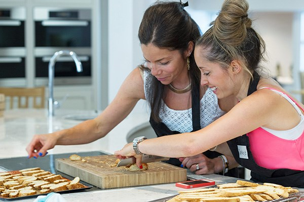 Full Day Cookery Class with Lunch and Wine at Rosemary Shrager Cookery School