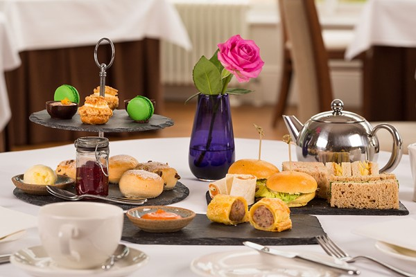 Sparkling Afternoon Tea for Two at Fishmore Hall